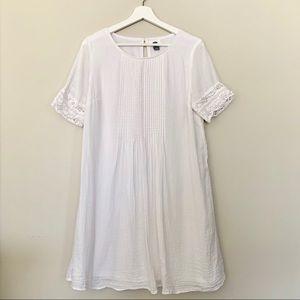 Old Navy | Short Sleeve Dress | White | Size Med
